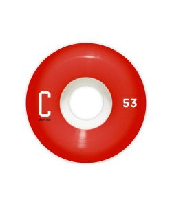 Chocolate Big C Staple 53mm Wheels Pack
