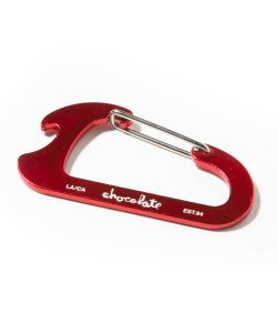 CHOCOLATE CARABINER RED