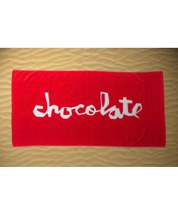 Chocolate Red Beach Towel