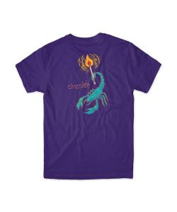 Chocolate Scorpio Purple Men's T-Shirt