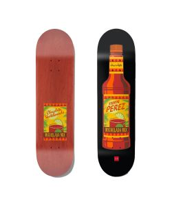 Chocolate Stevie Perez Hecox Essentials 8.375  Skate Deck