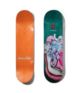 Chocolate Tershy Psych Bike Green Deck 8.25'' Σανίδα Skateboard