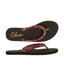 Cobian Soleil Multi Crimson Women's Sandals