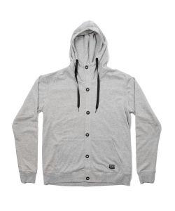 Colour Wear Band Grey Melange Φουτερ Κουκουλα