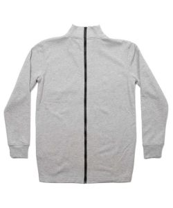 Colour Wear Banger Grey Melange Men's Sweater