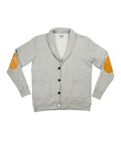 Colour Wear Clwr Grey Melange Men's Sweater
