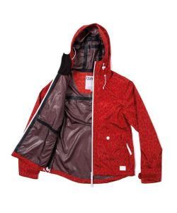 Colour Wear Gale Red Leo  Women's Jacket