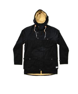 COLOUR WEAR HAGA PARKA BLACK JACKET
