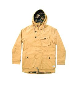 COLOUR WEAR HAGA PARKA CAMEL JACKET