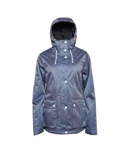 COLOUR WEAR IDA DENIM BLUE WOMEN'S SNOW JACKET