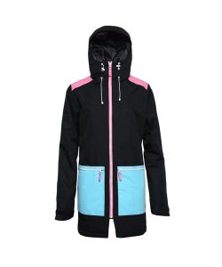 Colour Wear Isy Black Women's Snow Jacket