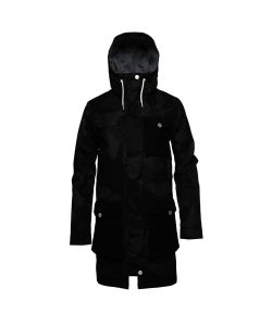 COLOUR WEAR JET PARKA BLACK ΓΥΝΑΙΚΕΙΟ SNOW JACKET