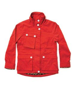 Colour Wear Landala Red Women's Jacket