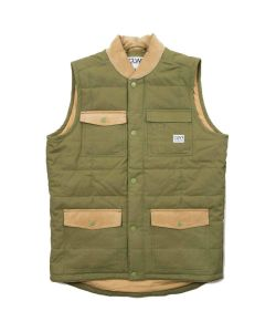 COLOUR WEAR LUMBER VEST LODEN VEST
