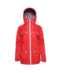 Colour Wear Lynx Red Women's  Snow Jacket