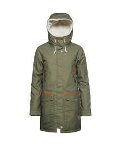 Colour Wear Range Parka Loden Women's Jacket