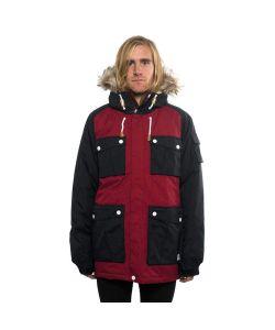 Colour Wear Roots Burgundy Ανδρικό Μπουφάν Snowboard