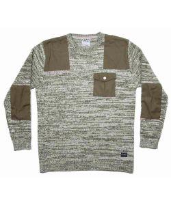 Colour Wear Sid Loden Melange Men's Sweater