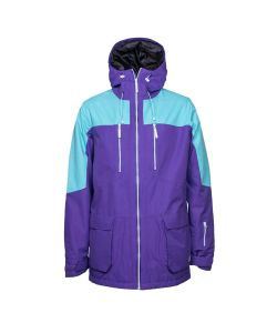 Colour Wear Thurst Ultra Violet Men's Snow Jacket