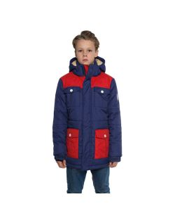 Colour Wear Trooper Patriot Blue Youth Snow Jacket