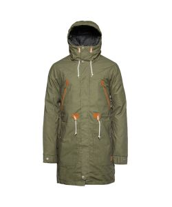 Colour Wear Urban Parka Loden Snow Men's Jacket