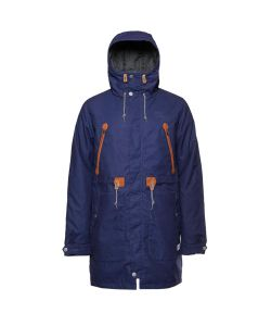 Colour Wear Urban Parka Patriot Blue Snow Men's Jacket