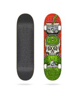 "Cruzade Skull Swirl 8.0"" Complete Skateboard"