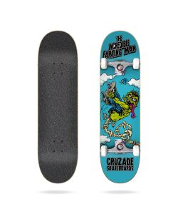 Cruzade The Incredible Farting Man 8.125 Complete Skateboard