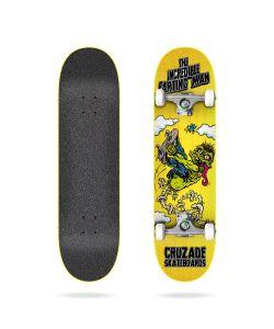 Cruzade The Incredible Farting Man 8.25'' Complete Skateboard
