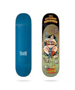 Cruzade Your Fatvorite Superhero 9.0'' Σανίδα Skateboard