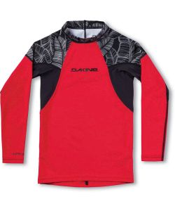 Dakine Heavy Duty Snug L/S Stencil Palm Lycra Boys