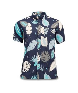 Dakine Poipu Short Sleeve Woven Abstract Palm Ανδρικό Πουκάμισο
