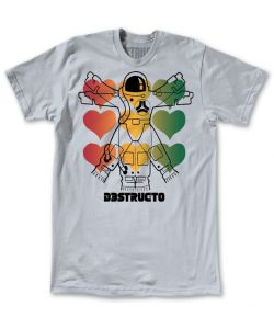 Destructo Eva Slate Men's T-Shirt