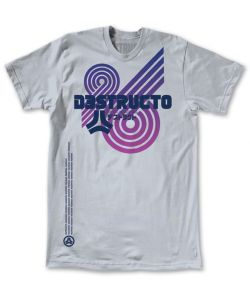 Destructo Reaktor#96 Silver Men's T-Shirt