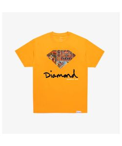 Diamond Ethiopian Diamond Gold Men's T-Shirt