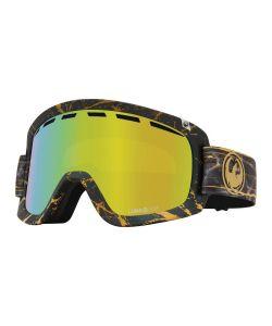 Dragon D1 OTG 14 Karat w/Lumalens Gold Ion + Bonus Lens Snow Goggle