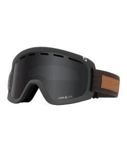 Dragon D1 OTG Pumice w/Lumalens Dark Smoke + Bonus Lens Snow Goggle