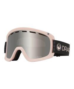 Dragon D1 OTG Sakura w/Lumalens Silver Ion + Bonus Lens Snow Goggle