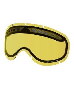 Dragon DXs Lumalens Yellow Replacment Lens