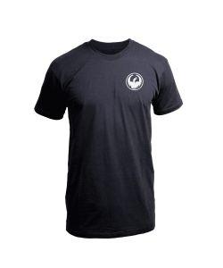 Dragon Icon Chest Staple Line Black Αντρικό T-Shirt