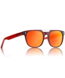 Dragon Mix Shiny Red Red Ion Sunglasses