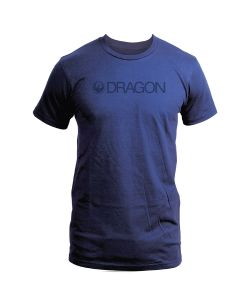 DRAGON TRADEMARK SPECIAL NAVY T-SHIRT