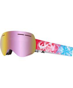 Dragon X1s Galaxy W/Lumalens Pink Ionized+Bonus Lens Snow Μάσκα