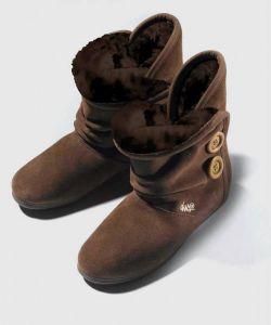 DVS  Shiloh Button Brown Suede Women's Shoes