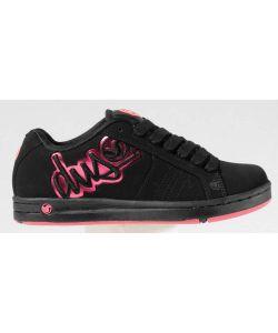 DVS Accomplice Black Pink Nubuck Women's Shoes