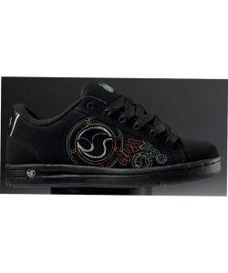 DVS Adora Black Neon Nubuck Women's Shoes