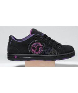 DVS Adora Black Purple Plaid Παπουτσια