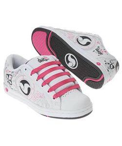 DVS Adora White Leather Women's Shoes