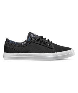 DVS Aversa+ Black White Canvas Women's Shoes