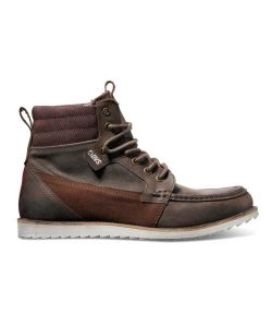 DVS Bishop Brown Leather Men's Shoes